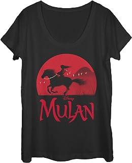 Disney womens Mulan Sunset Shirt