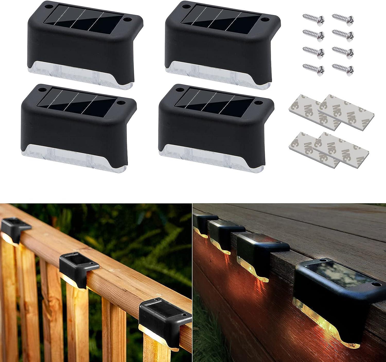 Apolinar Solar Deck Lights Outdoor Step Pa 5 ☆ Direct stock discount popular Waterproof 4