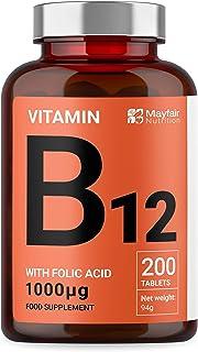 Vitamina B12 con ácido fólico | 200 tabletas