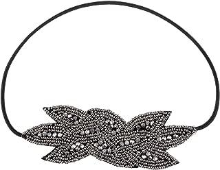 Vintage 1920s Floral Leaf Flapper Headband