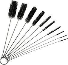 eBoot 8.2 Inch Nylon Tube Brush Pipe Cleaning Brushes with Packing Box, Set of 10