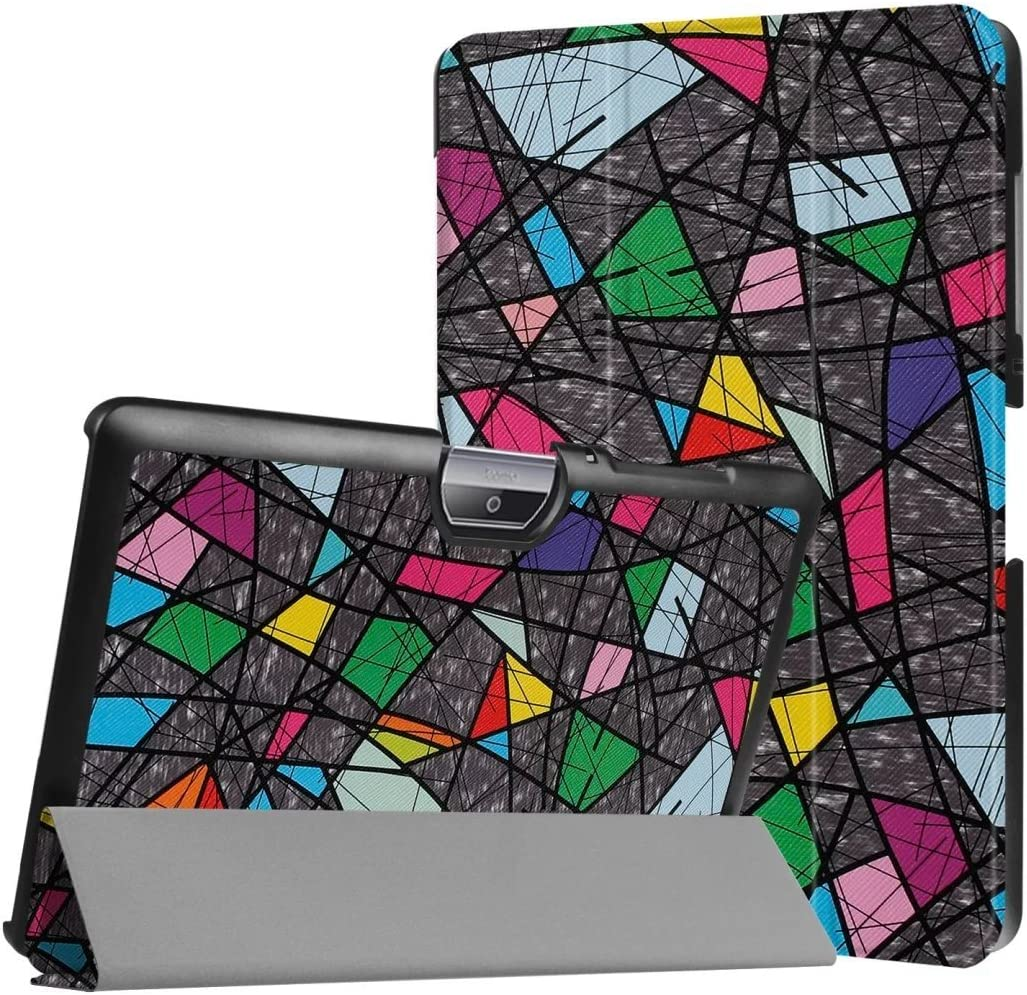 WiTa-Store Cover for Acer Iconia Tab One 10 B3-A30 B3-A32 A3-A40 10.1 Inch Case Bookstyle Cover Sleeve (Abstrakt)
