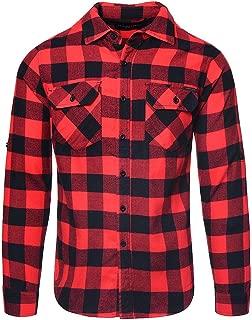 Mens Jack Chequered Shirt (Red/Black)