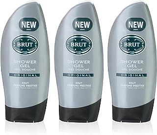 Gel de ducha Brut Original para hombre 3 unidades 250 ml de Faberge