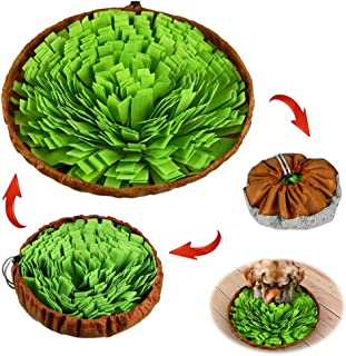 Stellaire Chern Pet Snuffle Mat for Dogs Nosework Feeding Mat, Encourages Natural Foraging Skills for Small Large Pets, Dog Treat Dispenser