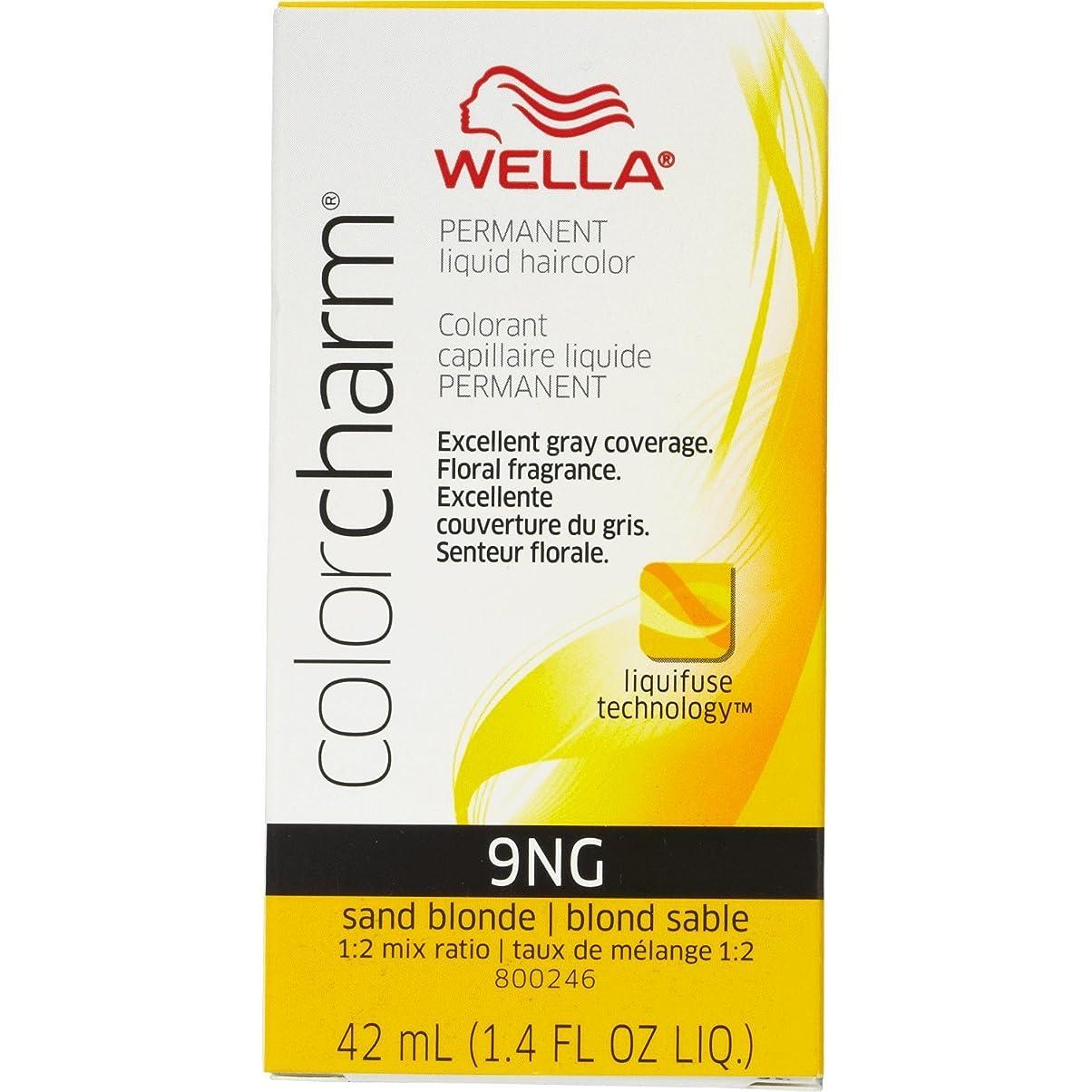 予算巡礼者潮Wella 砂のブロンド色のチャーム液体パーマネントヘアカラー