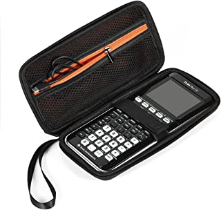 BOVKE Graphing Calculator Carrying Case for Texas Instruments TI-84/Plus CE Hard EVA Shockproof Storage Travel Case Bag Protective Pouch Box