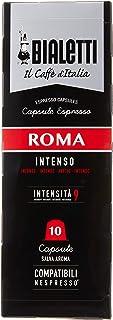 Bialetti Caffe Roma Nespresso Uyumlu Koyu Kavrulmuş 10'lu Kapsül Kahve
