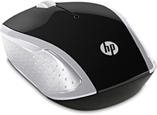 HP 200 Wireless Mouse Compatible with PC & Laptop - Silver