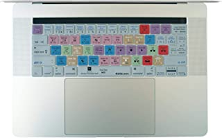 """EZQuest Adobe Premiere Pro Keyboard Cover for the 13.3"""" & 15.4"""" MacBook Pro with Touch Bar (Late 2016)"""