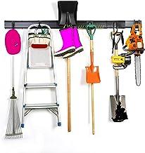 Organizador de garagem de 13 peças, ganchos de garagem e ganchos de aço para armazenamento de ferramentas, ganchos duplos ...