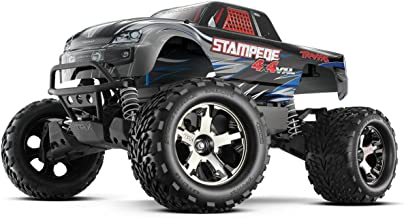 Traxxas 67086-4 Stampede 4X4 1/10 Monster Truck with TQi 2.4GHz Radio/TSM, Silver