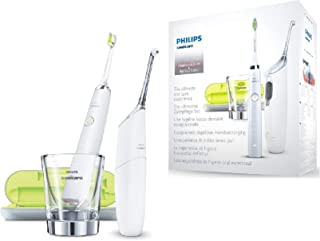 Philips Sonicare AirFloss Ultra HX8491/01 electric toothbrush Adult Sonic toothbrush Grey,White