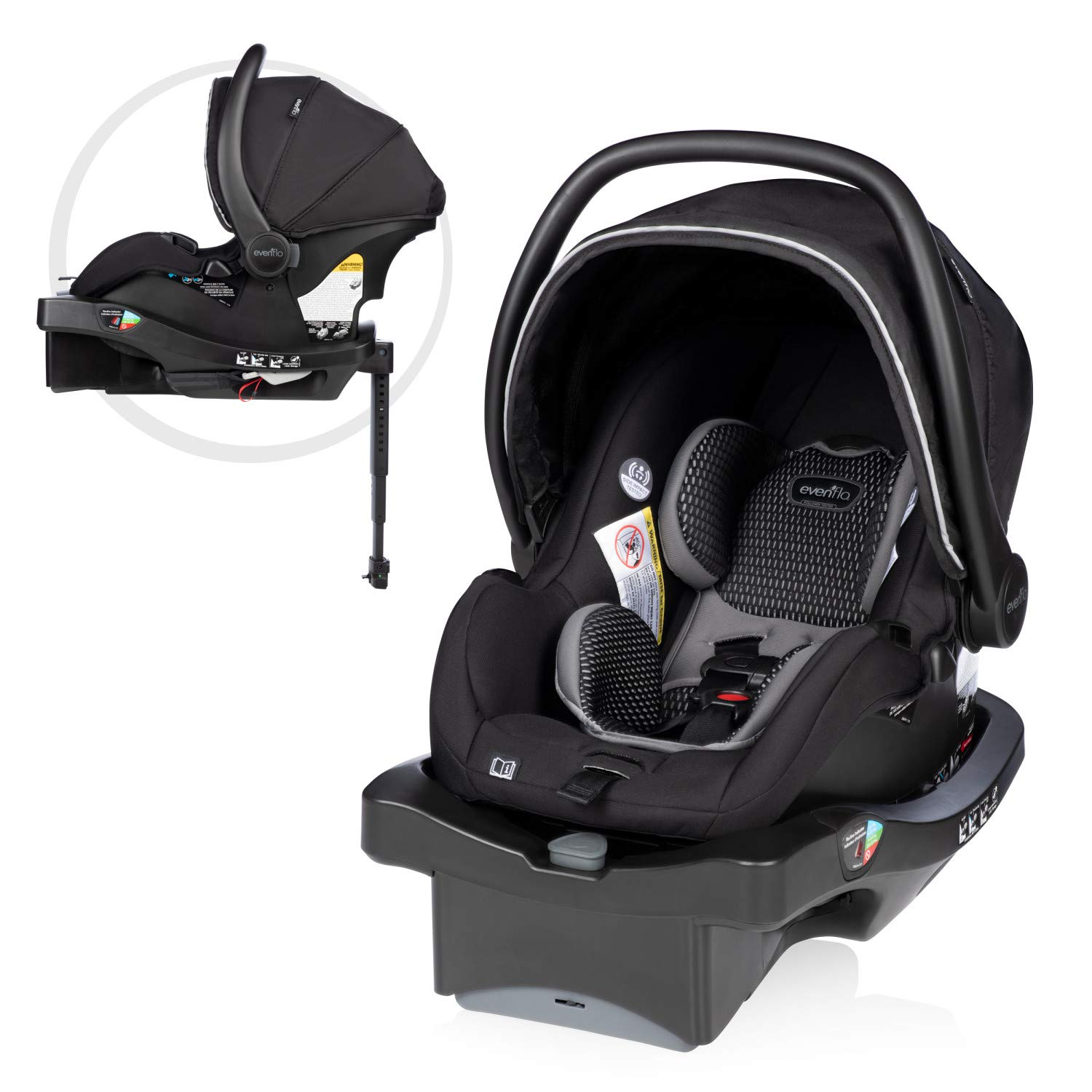 LiteMax Discount is also underway DLX Infant Car Free shipping New Seat with FreeFlow and L Fabric SafeZone