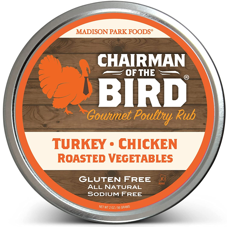 Chairman of unisex the Bird Gourmet Elegant Poultry Restaurant He Rub Classic -