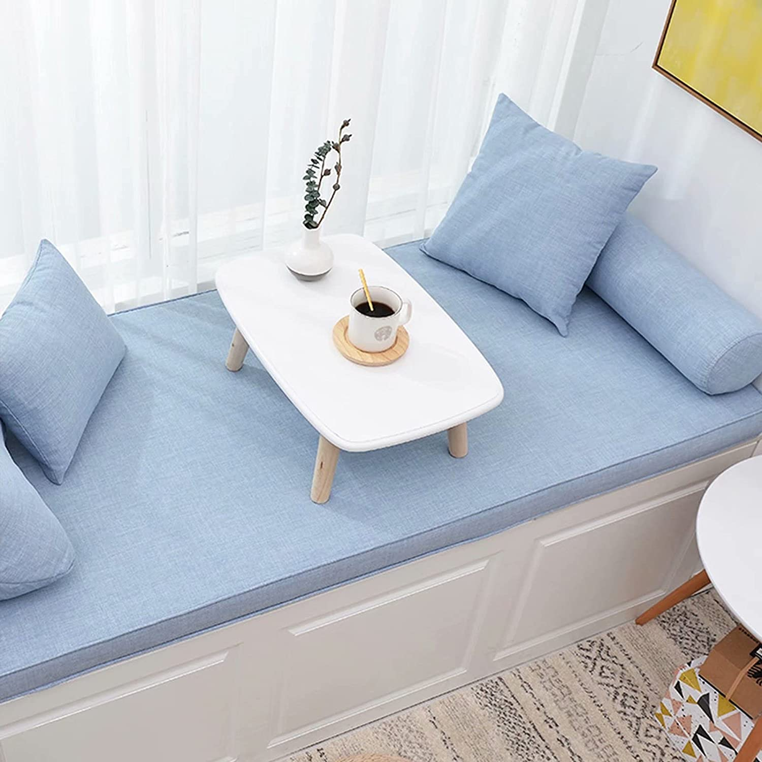 Indoor New Free Shipping Bay It is very popular Window Shoe Bench Seat inch 59 × Farm 18 Cushion