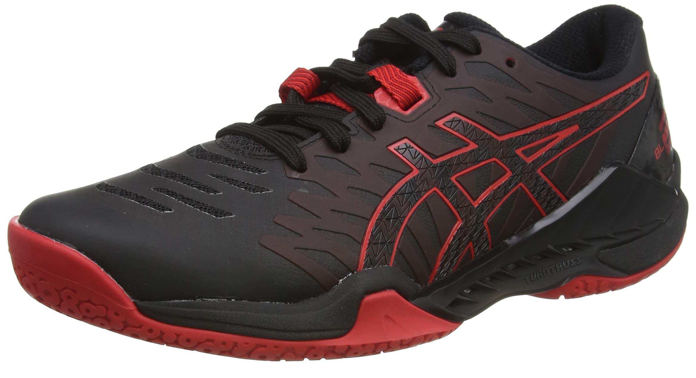 ASICS Herren 1071A044-001-10M Running Shoe, Black Classic Red, 44.5 EU