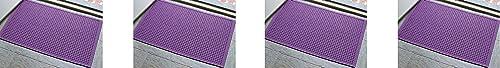 M+A Matting - 280680023 WaterHog Fashion Commercial-Grade Entrance Mat, Indoor/Outdoor Charcoal Floor Mat 3' Length x...