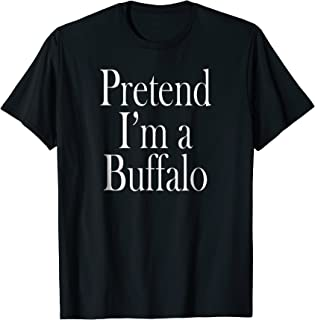 Buffalo Costume Shirt for the Last Minute Party