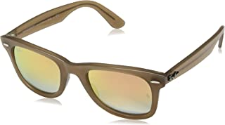 RB4340 Wayfarer Ease Sunglasses, Beige/Copper Gradient Flash, 50 mm