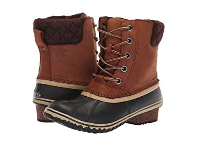 SOREL Slimpack II Lace (Burro/Cattail Nubuck Leather) Women