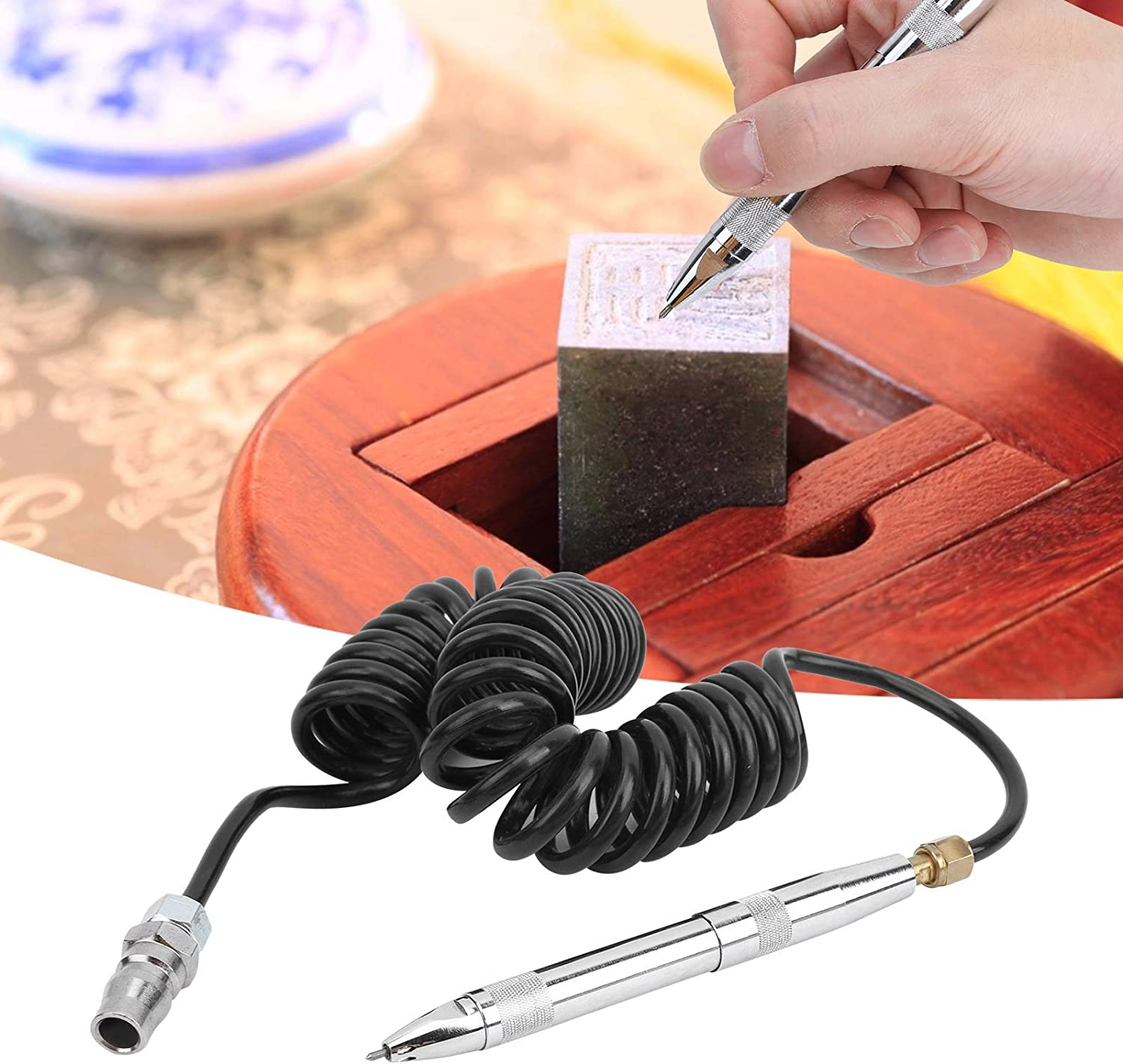 Recommended Jewelry Engraving Pen Pneumatic KP‑6 Carving Ranking TOP1 min 3400