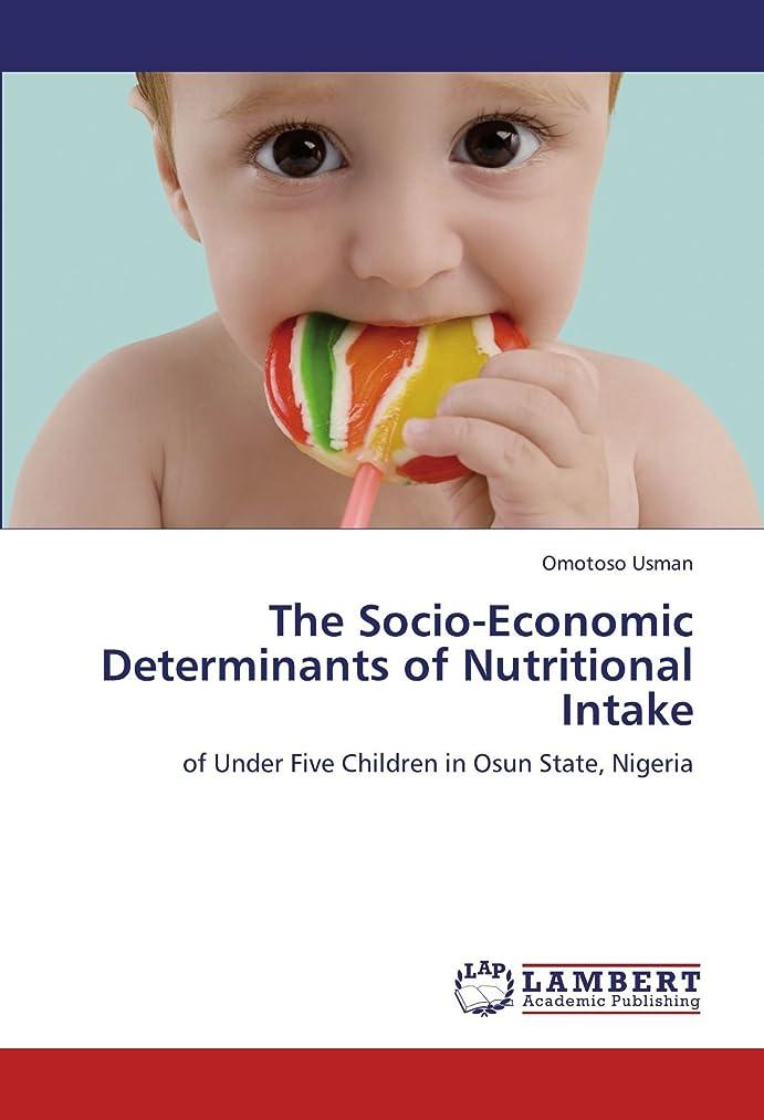 公使館間違っている派手The Socio-Economic Determinants of Nutritional Intake