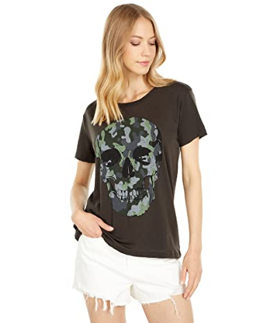 Chaser Camo Skull Recycled Vintage Jersey Everybody Tee