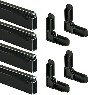 Prime-Line PL 7806 Screen Frame Kit, 5/16 in. x 3/4 in. x 36 in., Aluminum, Bronze Finish, Pack of 1 Kit