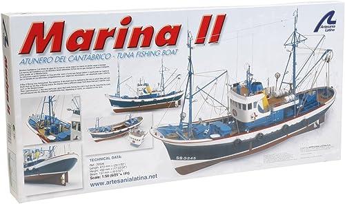 Artesania Latina 20506 - 1 50 Marina II, Wasserfahrzeuge