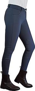 W-Horse Classic - Pantalón de equitación para Mujer, Hecho