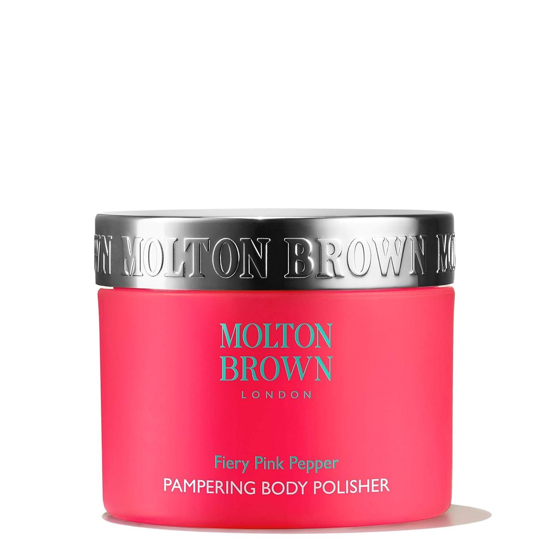 お祝いインディカマニュアルMOLTON BROWN(モルトンブラウン) ファイアリー ピンクペッパー パンパリング ボディポリッシャー