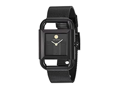 Tory Burch Phipps Mesh Watch (Black TBW7253) Watches