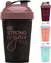GOMOYO Motivational Quotes on Performa Perfect Shaker Bottle 20 Ounce Classic Protein Shaker Bottle Actionrod Mixing Dishwasher Safe Leak Proof Estimated Price : £ 17,23