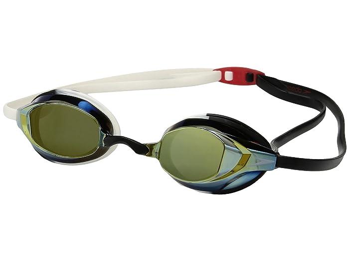 Speedo Vanquisher EV Mirrored (White/Black) Water Goggles