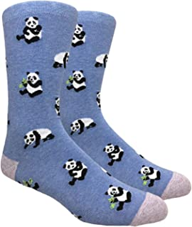 Urban-Peacock Men's Novelty Fun Dress Socks (Multiple Patterns to Select From)
