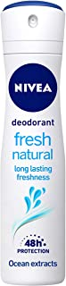 NIVEA Deodorant, Fresh Natural, Women, 150ml