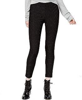 Women's Polka-Dot Pull-On Skinny Pants