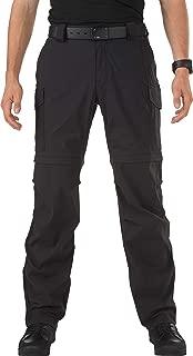 5.11 Tactical Men's Bike Patrol Zip-Off Pants, Quick-Drying, Adjustable Belt Loops, Style 45502