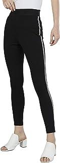 Iconic Women's 2091124 SS23FASHTREG Knitted Jeggings, Black