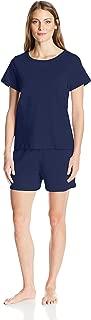 Women's 100% Cotton Short-Sleeve Pajama Set