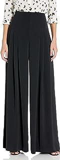 Dear Drew by Drew Barrymore Women's Maiden Lane High Waisted Wide Leg Trouser