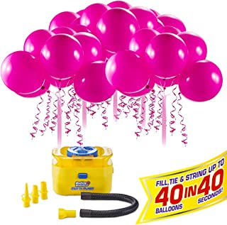 Bunch O Balloons Portable Party Balloon Electric Air Pump Starter Pack (Includes 40X 11