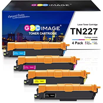 PayForLess Compatible for Brother TN227 TN-227 TN227BK TN223 TN-223 Toner Cartridge for MFC-L3710CW MFC-L3770CDW MFC-L3750CDW HL-L3210CW HL-L3230CDW HL-L3290CDW HL-L3270CDW HL-L3230CDN
