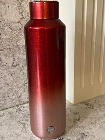 Starbucks 2013 Taiwan Thermos light weight violet stainless bottle 400ml
