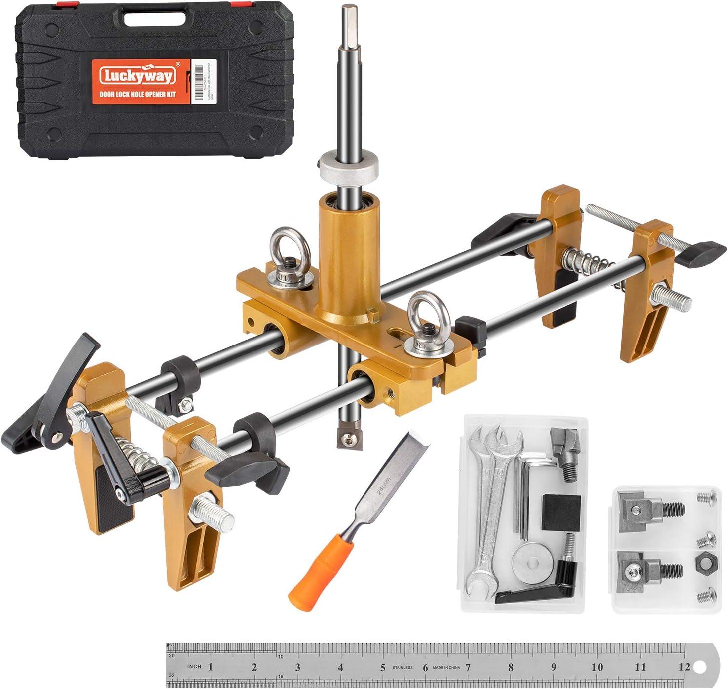 Luckyway Door Lock Hole Opener Time sale Doo Kit Popularity for Wooden Mortiser