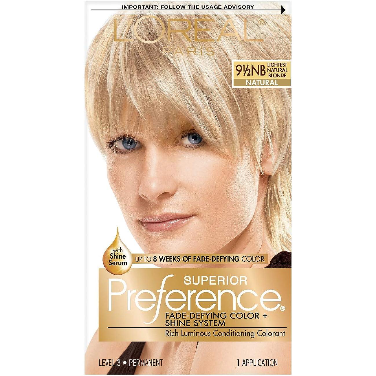 L'Oreal Superior Preference - 9-1/2NB Lightest Natural Blonde (Natural) 1 Each (Pack of 3)