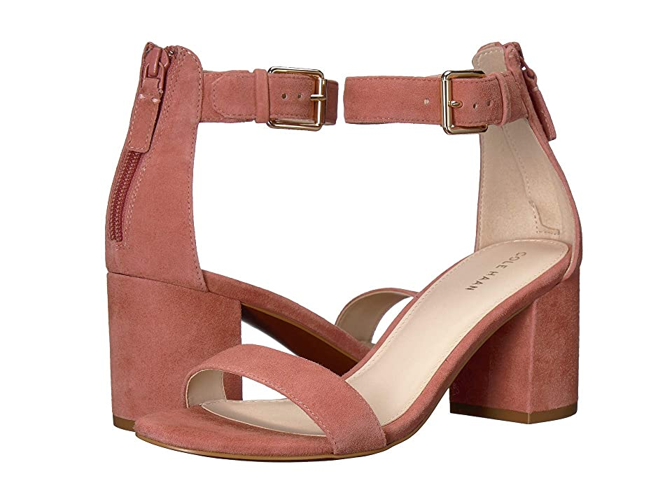 Cole Haan 65 mm Clarette Sandal (Cedarwood Suede) Women