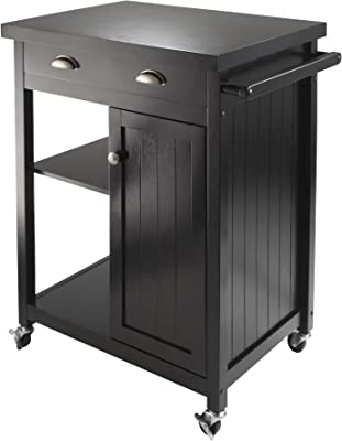 Winsome Timber Kitchen, Black