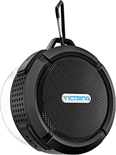 VicTsing SoundHot Bluetooth Shower Speaker, Waterproof Bluetooth Speaker with 6H Playtime, Loud HD Sound, Shower Speaker with Suction Cup & Sturdy Hook, Compatible with IOS, Android, PC, Pad